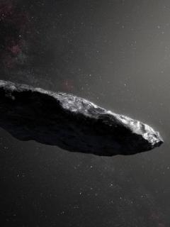 Oumumua, asteroide interestelar que visitó el sistema soalr