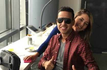 Martin Elías y Dayana Jaimes_