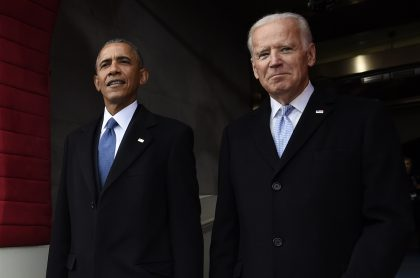 Barack Obama y Joe Biden
