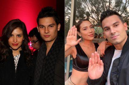 Pipe Bueno, cantante, con Jessica Cediel, presentadora, y con Luisa Fernanda W, 'influenciadora'.