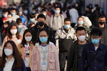 Pekín, China, durante la crisis del coronavirus.