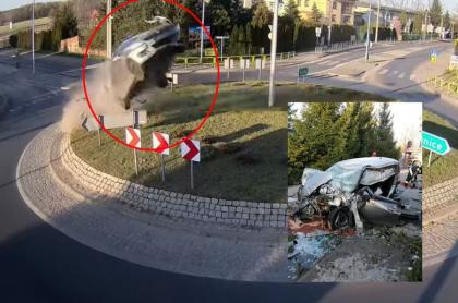 Accidente tránsito Polonia