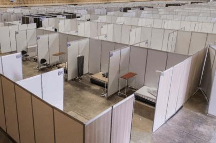 Corferias adecua sus instalaciones para atender crisis de coronavirus