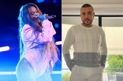 Karol G y Jessi Uribe, cantantes.