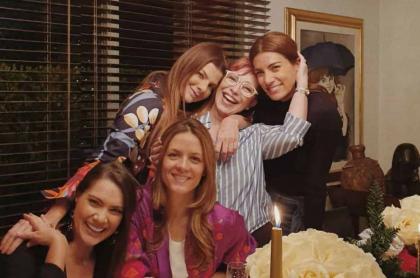 Jessica de la Peña, Angela Cardozo, Carolina Cruz, Yaneth Waldman y Andrea Serna.