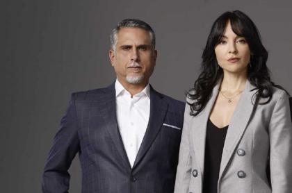 Marlon Moreno y Carolina Gómez, actores.