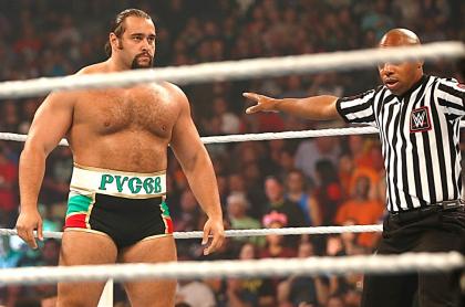 Rusev, luchador que salió de la WWE