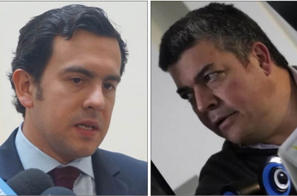 Rodrigo lara y Gustavo Gómez