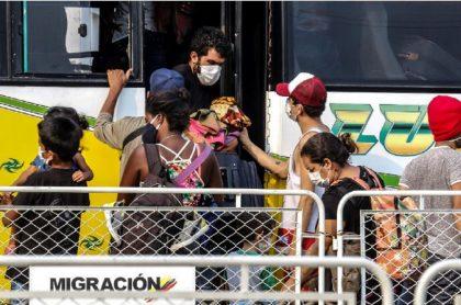Ayudarán a venezolanos en Chía a volver a su país