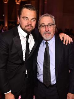 Leonardo DiCaprio y Robert De Niro