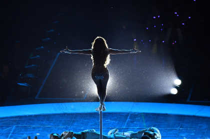 Silueta de Jennifer Lopez