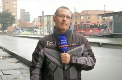 Efraín Arce, 'patrullero' de RCN.