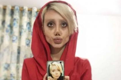 Angelina Jolie iraní