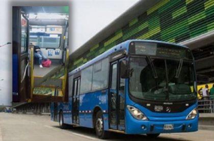 Mujer que se desplomó en bus del Mío no tiene coronavirus