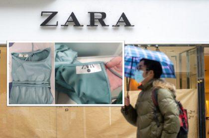 Llegan primeras batas marca Zara a hospitales para ayudar a prevenir el COVID-19.