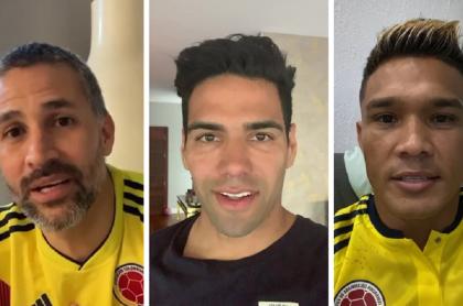 Mario Alberto Yepes / Falcao García / Teófilo Gutiérrez