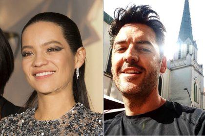 Natalia Reyes y Rodrigo Candamil, actores.
