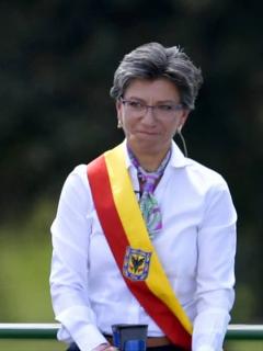 Claudia López, alcaldesa de Bogotá.