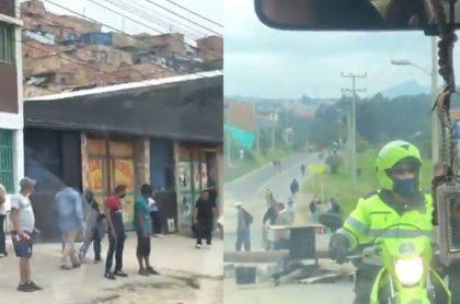 Denuncian retenes ilegales de civiles en Bogotá.