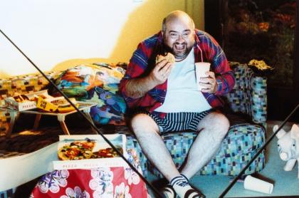 Hombre con obesidad