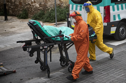 Barcelona en medio del coronavirus