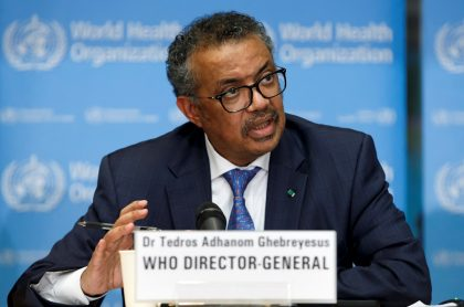 Tedros Adhanom Ghebreyesus, director general de la Organización Mundial de la Salud