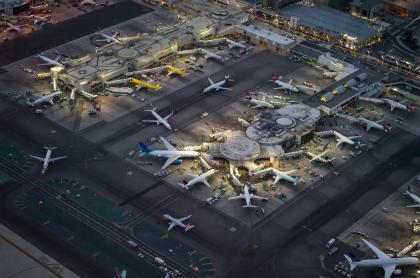 Aviones en tierra