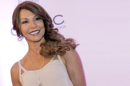 Amparo Grisales, actriz y jurado.