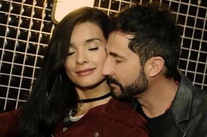 Paola Rey y Juan Carlos Vargas, esposos y actores.