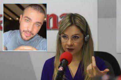 Vicky Dávila recibe insultos tras entrevista a Jessi Uribe
