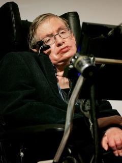 Stephen Hawkings.