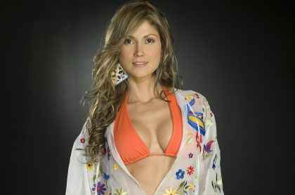 Lina Marulanda, presentadora.