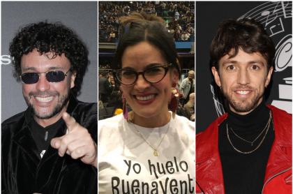 Andrés Cepeda, Vanessa de la Torre y Esteman