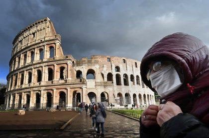 Roma, Italia, en medio de la pandemia del coronavirus