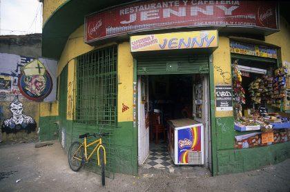 Comercio en Bogotá, afectado por el COVID-19