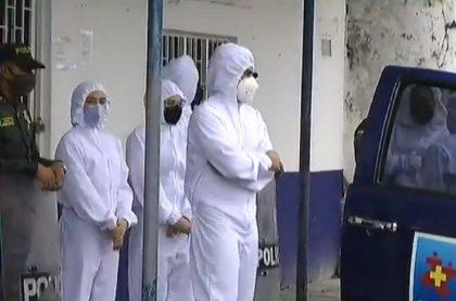 Minjusticia dice que guardia habría llevado virus a cárcel