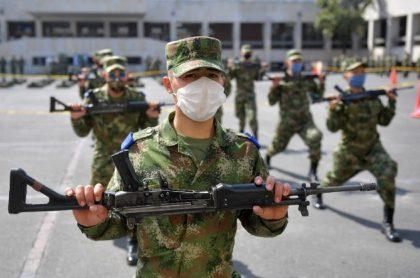 Militares contagiados de coronavirus en Magdalena