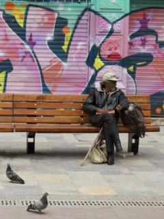 habitante de la calle Bogotáq
