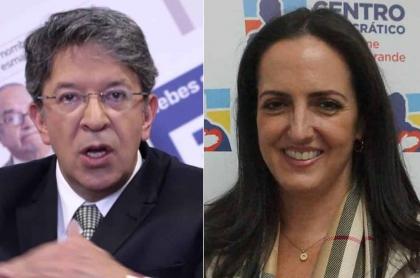 María Fernanda Cabal y médico