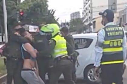 Policía emn Ibagué