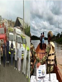 Ayudas humanitarias por crisis de coronavirus
