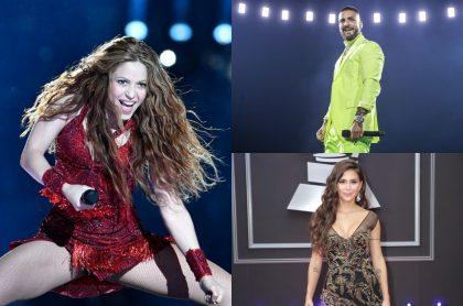 Shakira, Maluma, Greeicy