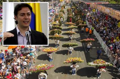 Daniel Quintero, alcalde de Medellín / Desfile Feria de las Flores
