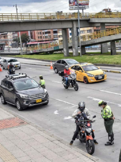 Tránsito Bogotá, imagen de referencia.