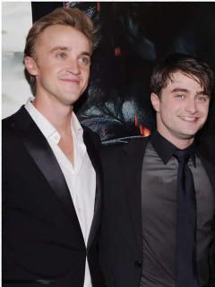 Tom Felton, Daniel Radcliffe, / Taylor y Austin Swift