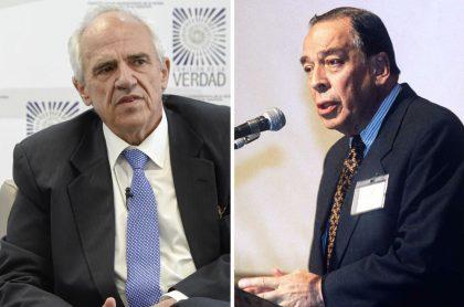 Ernesto Samper Pizano y Álvaro Gómez Hurtado