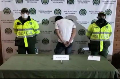 Sujeto capturado por robo de motocicleta