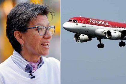 Claudia López critica a Avianca