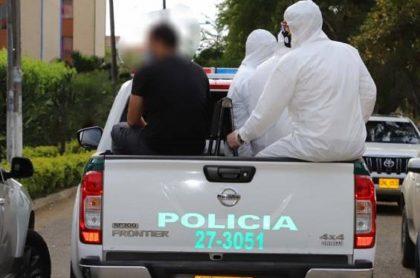 Hombre con coronavirus capturado en Cali