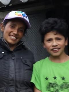 Familia campesina 'youtuber'